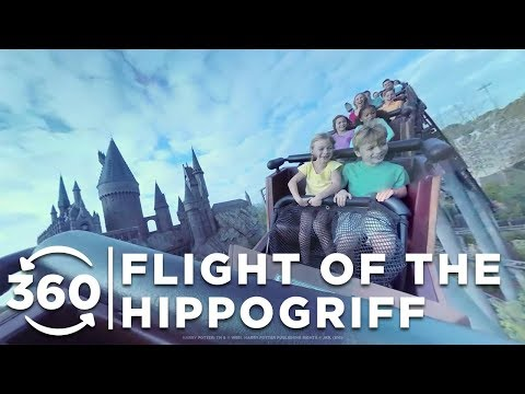 360 VIDEO: Flight of the Hippogriff | Islands of Adventure