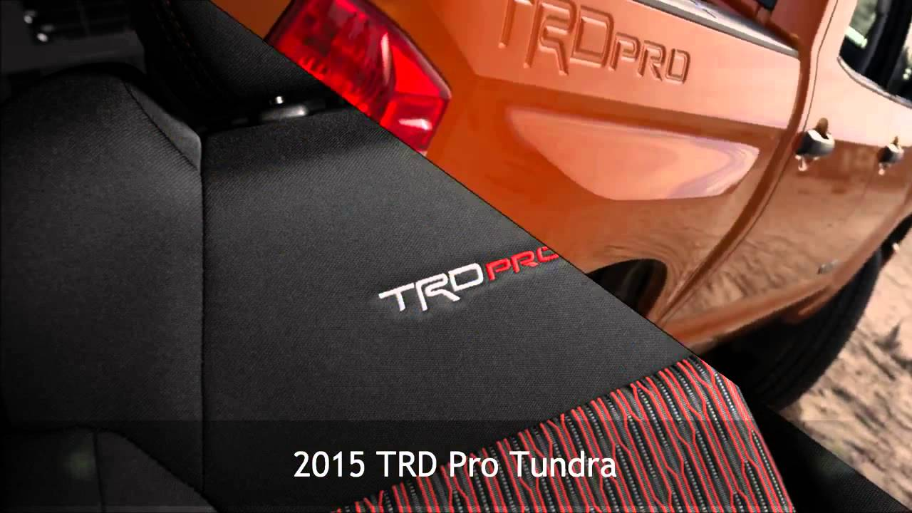 2015 Toyota Trd Pro Tundra From Harr Motors Serving Sioux