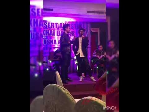 Konsert Akustik Khai Bahar, Kuching Sarawak bersama Fatin Husna & rakan2.. Full video..