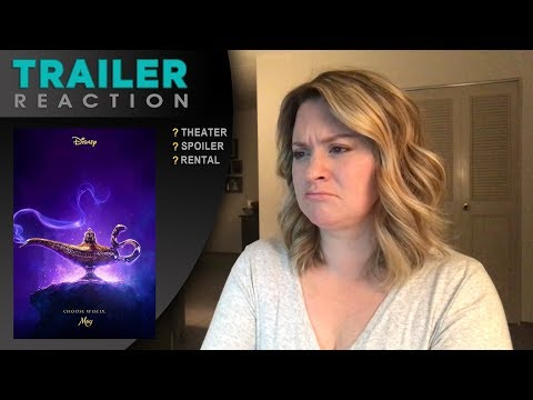 Aladdin 'Special Look' - TRAILER REACTION