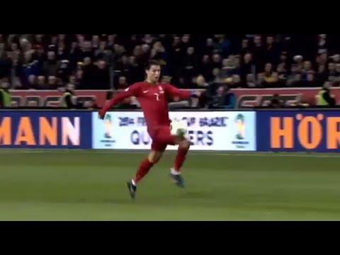 Ronaldo's amazing hat-trick - Sweden vs Portugal