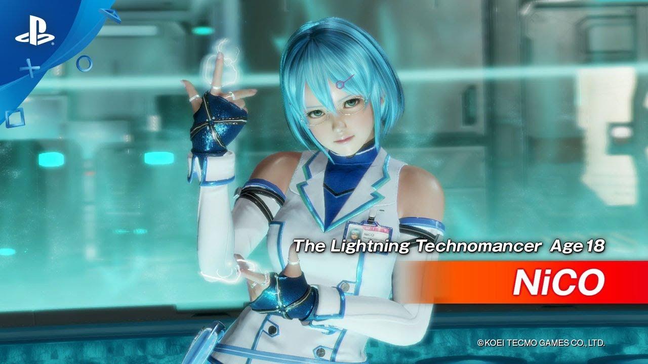 Dead Or Alive 6 – The Lightning Technomancer | PS4