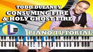 TODD DULANEY: Consuming Fire Chords: Gospel Piano Tutorial