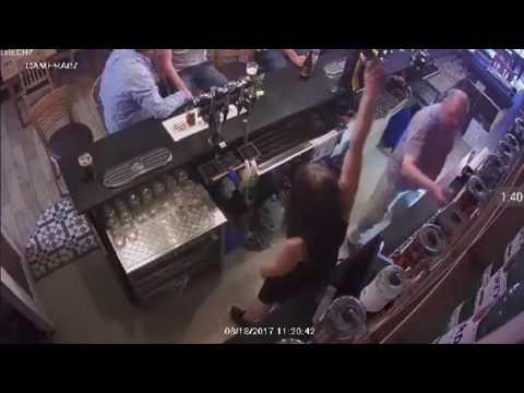 Pub landlord beats his wife