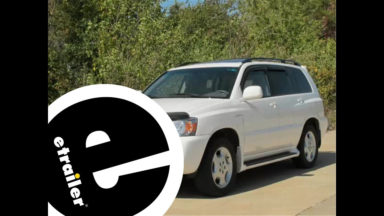 2010 Toyota Highlander Trailer Wiring Harness Electrical Wire Diagram Installation 2004 Rh Youtube Com For 2003