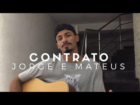 Contrato - Jorge e Mateus (Cover - Pedro Mendes)