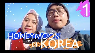 TRAVEL VLOG HONEYMOON DI KOREA KETIKA WINTER #1
