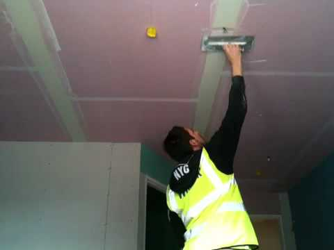 Tape And Fill Ceiling You