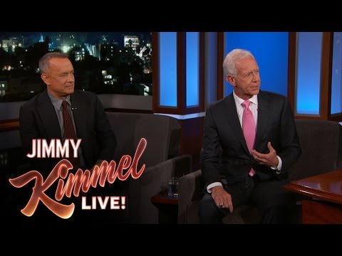 Sully Sullenberger Surprises Tom Hanks