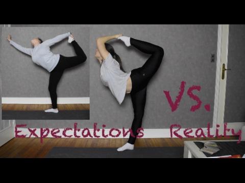 Expectations vs. reality - Gimnastics