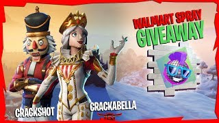 [CRACKSHOT RETURNS!!! || Walmart Spray Giveaway || Fortnite Battle Royale