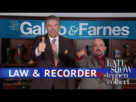 Tonight Show vs. Galino & Farnes: Secret Tape Attorneys
