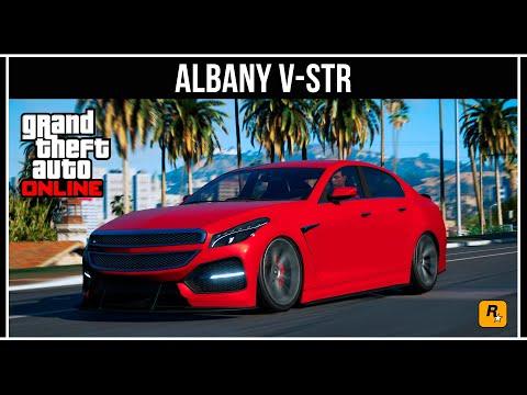 GTA Online: Обзор нового спорткара Albany V-STR