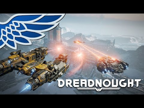 DREADNOUGHT | MULTIPLAYER SQUAD - Sponsored Free to Play Let's Play / Gameplay
