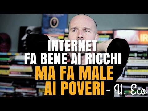 Internet fa bene ai ricchi ma fa male ai poveri