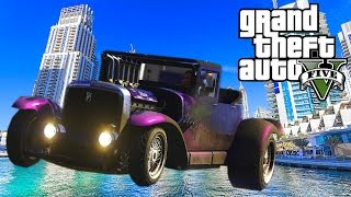 GTA 5 - Fränken Stange stunt test ! HOT ROD POWER