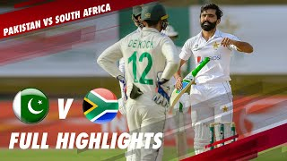 Full Highlights | Pakistan VS South Africa | 1st Test | Day 2 | PCB | ME2T