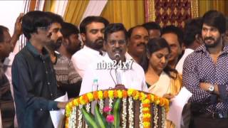 Kalaipuli S. Thanu promises to support Vishal and Team | nba 24x7