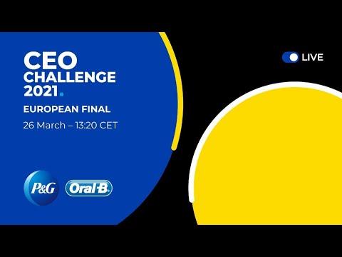 P&G CEO Challenge 2021 European final