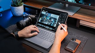 The BEST Accessory for Your M1 iPad Pro Setup in 2021 - Logitech Combo Touch