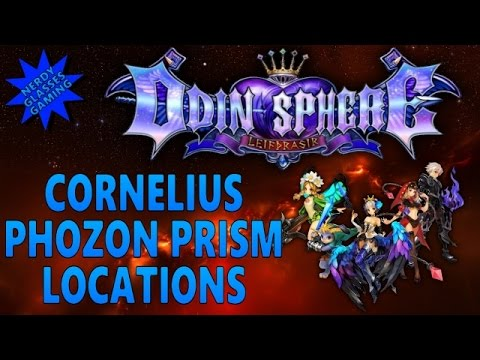 Odin Sphere Leifthrasir - Cornelius Phozon Prism Locations (PS4 Gameplay)