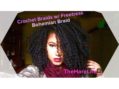 Download video: Crochet Braids w/ Freetress Bohemian Braid