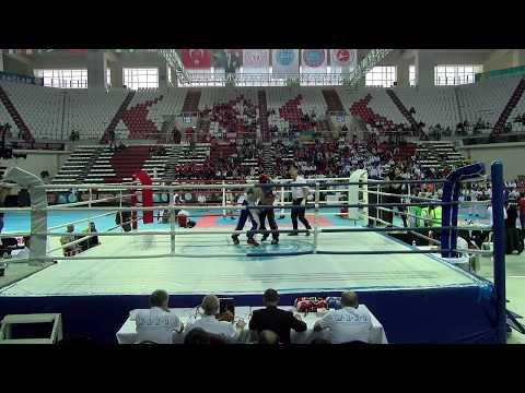Vladyslav Hyda V Zhandos Nazarbekov WAKO World Championships 2019