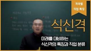 [직업분석 노하우] 전문가? 실무? 식신격의 직업 특징