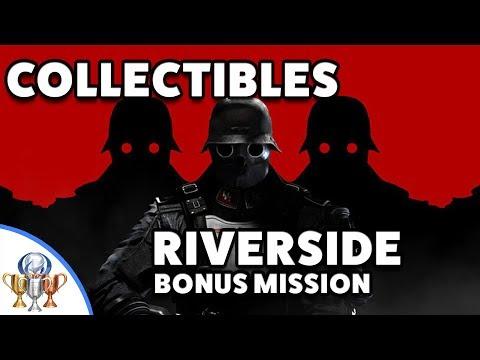 Wolfenstein 2 The New Colossus Riverside Collectibles - Bonus Ubercommander Mission