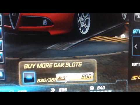 Need for speed world garage slots hack