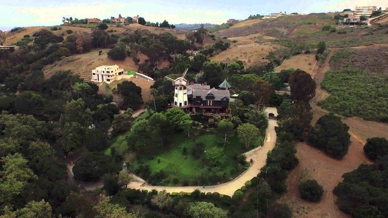 Los angeles celebrity homes thomas gottschalk youtube for Haus gottschalk