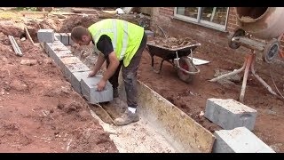How to do a foundation for a small extension