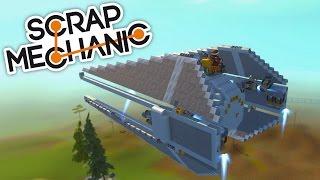 IMPRESIONANTE! LA MEJOR NAVE DE STAR WARS!   (Scrap Mechanic)   BraxXter