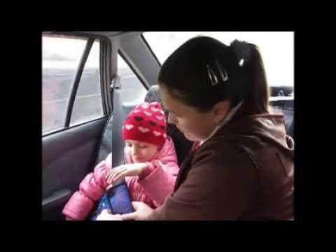 Адаптер ремня безопасности в автомобиле для детей