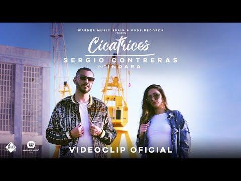 Смотреть клип Sergio Contreras Ft. Indara - Cicatrices