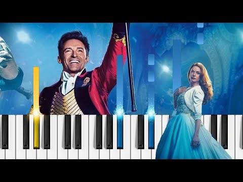 The Greatest Showman - Never Enough - EASY Piano Tutorial
