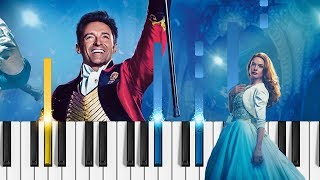 Video The Greatest Showman - Never Enough - EASY Piano Tutorial download MP3, 3GP, MP4, WEBM, AVI, FLV Juli 2018