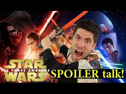 Star Wars: The Force Awakens SPOILER talk