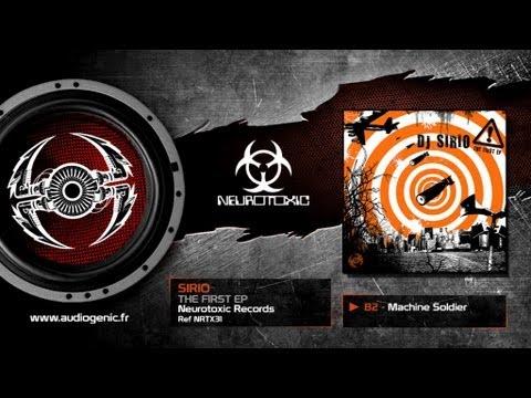 SIRIO - B2 - MACHINE SOLDIER - THE FIRST EP - NRTX31