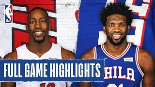 HEAT at 76ERS | FULL GAME HIGHLIGHTS | December 18, 2019