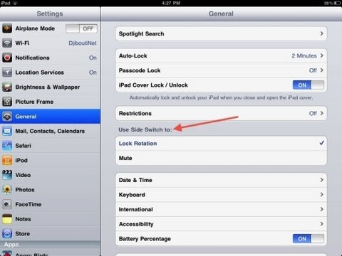 how to unlock screen rotation on iphone how to lock screen rotation on iphone ipod 7422