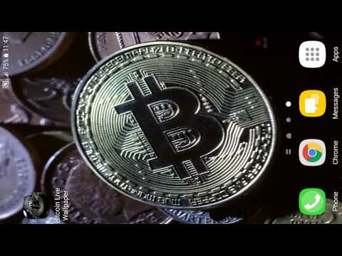 Bitcoin Live Wallpaper