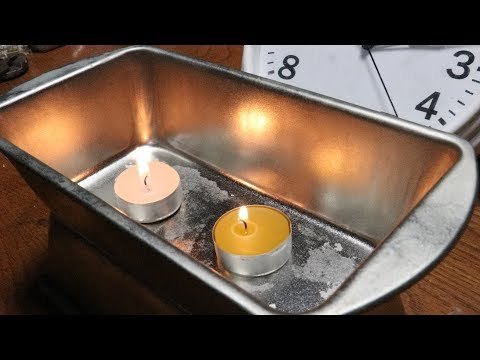 Beeswax Vs Paraffin: Flame Test