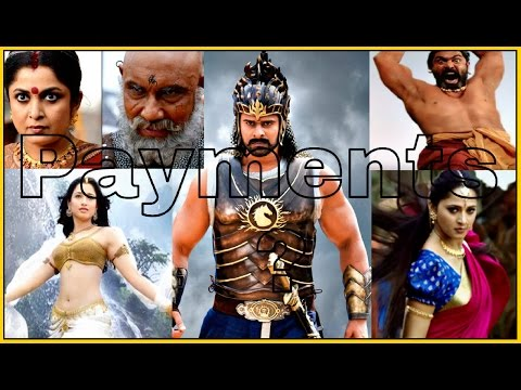 Bahubali 2 Actors Payments for their Great Hard Work!!!