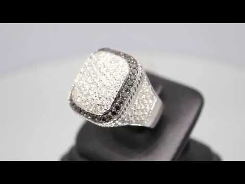 mens-10k-solid-white-gold-diamond-ring-with-black-diamonds-6.50-ctw