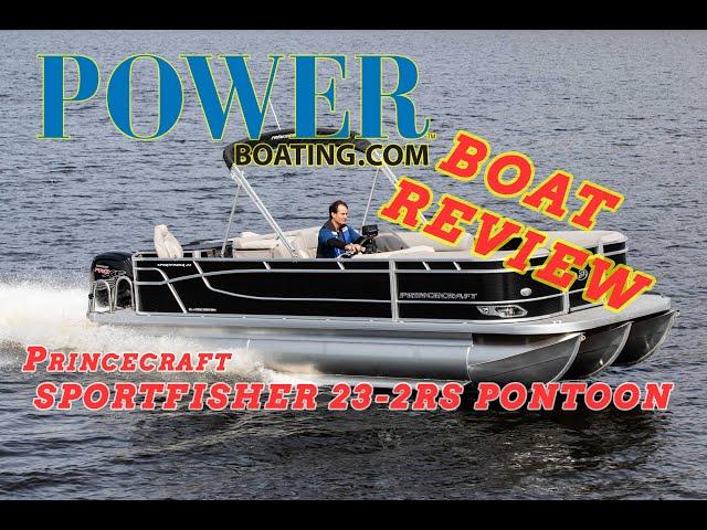 (live) #Princecraft SPORTFISHER 23-2RS PONTOON AND FISH BOAT (WALK THROUGH)