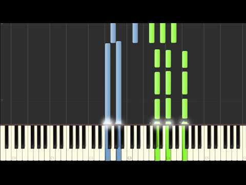 James Blunt - Face the sun  ( Piano tutorial lesson )