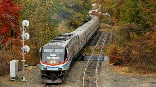 An Epic Chase of Amtrak