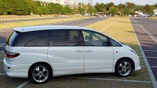 トヨタ・エスティマ:首都高湾岸線を爆走!TOYOTA ESTIMA Test drive on Shuto Expressway