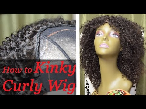 How To Make a curly Wig